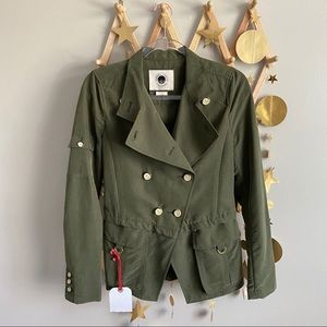 Anthro daughters of the liberation military jacket